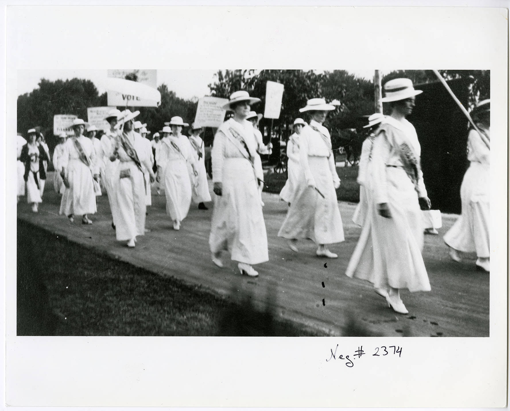 Marching Suffragists